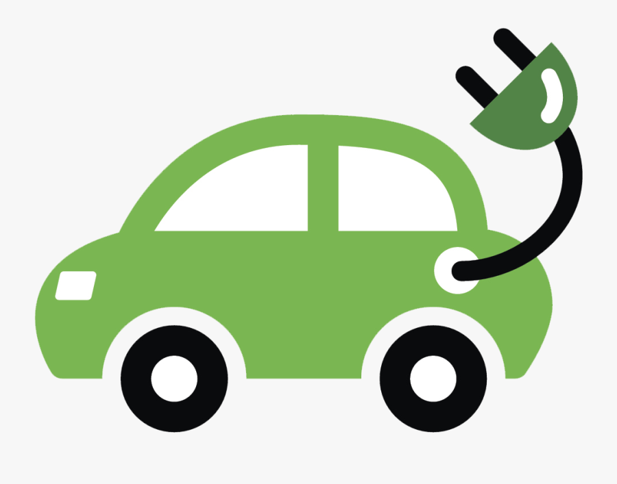 Graphic Black And White Stock Council Adds Electric - Electric Car Cartoon, Transparent Clipart