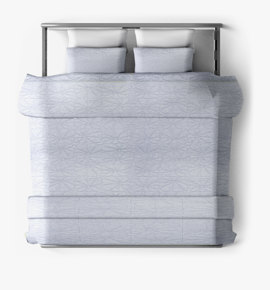 Topview - Bed Top View Png, Transparent Clipart
