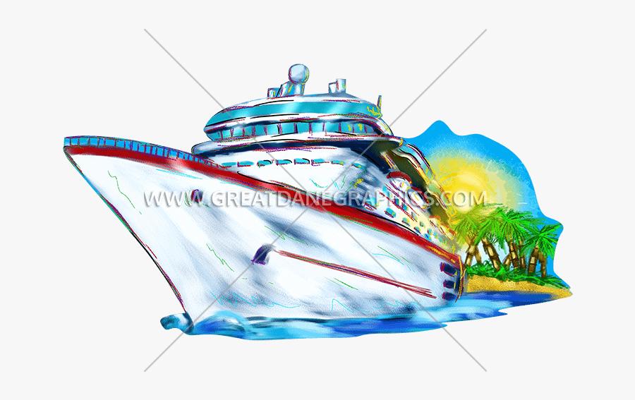 Ship Production Ready Artwork - Cruise Ship Clip Art Png, Transparent Clipart