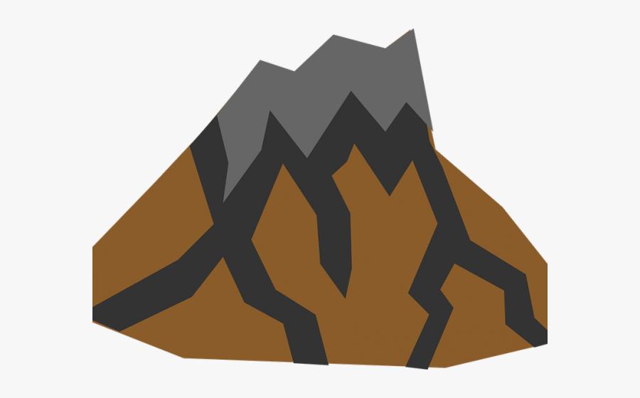 Dormant Volcano Clipart, Transparent Clipart
