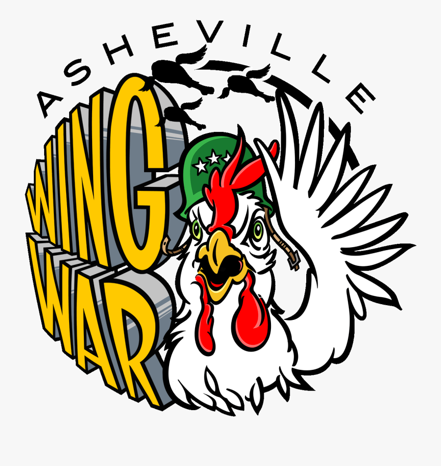 Chicken Wing Cook Off Logo, Transparent Clipart