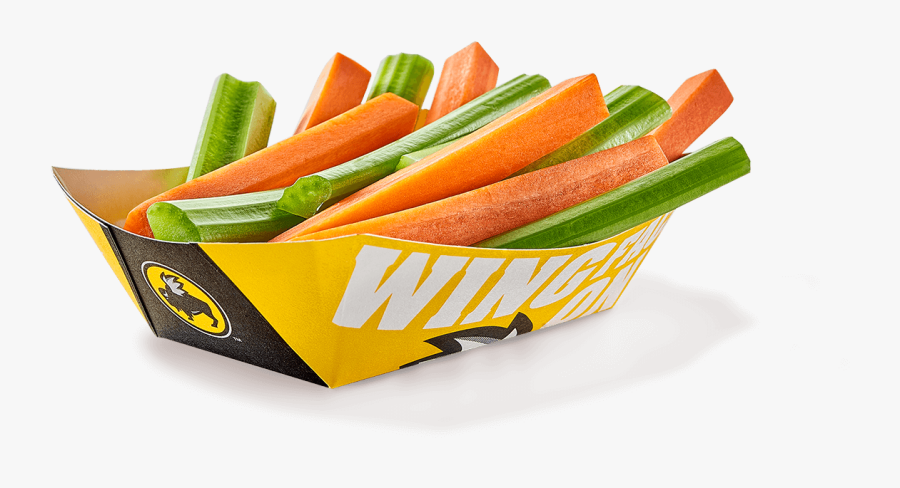 Buffalo Wild Wings Carrots And Celery, Transparent Clipart