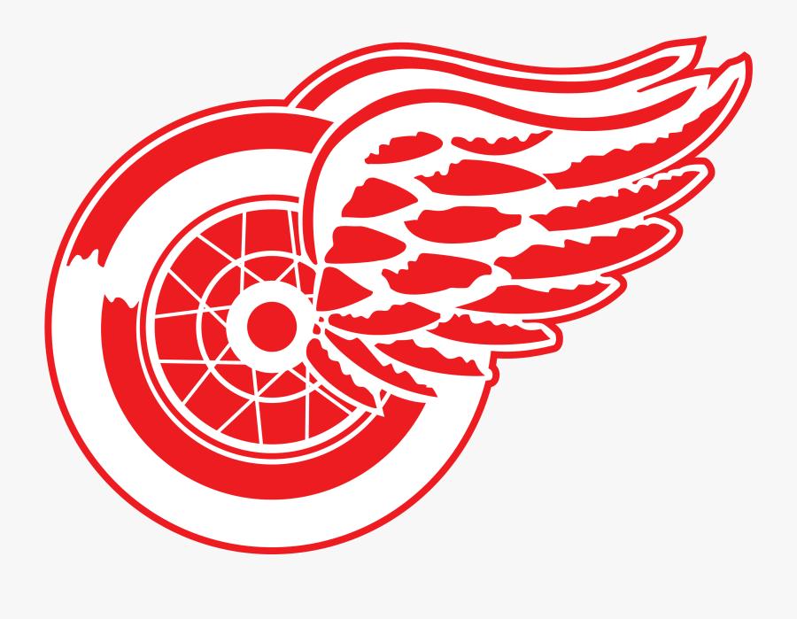 Red Wings Logo Emblem - Detroit Red Wings Logo Svg, Transparent Clipart