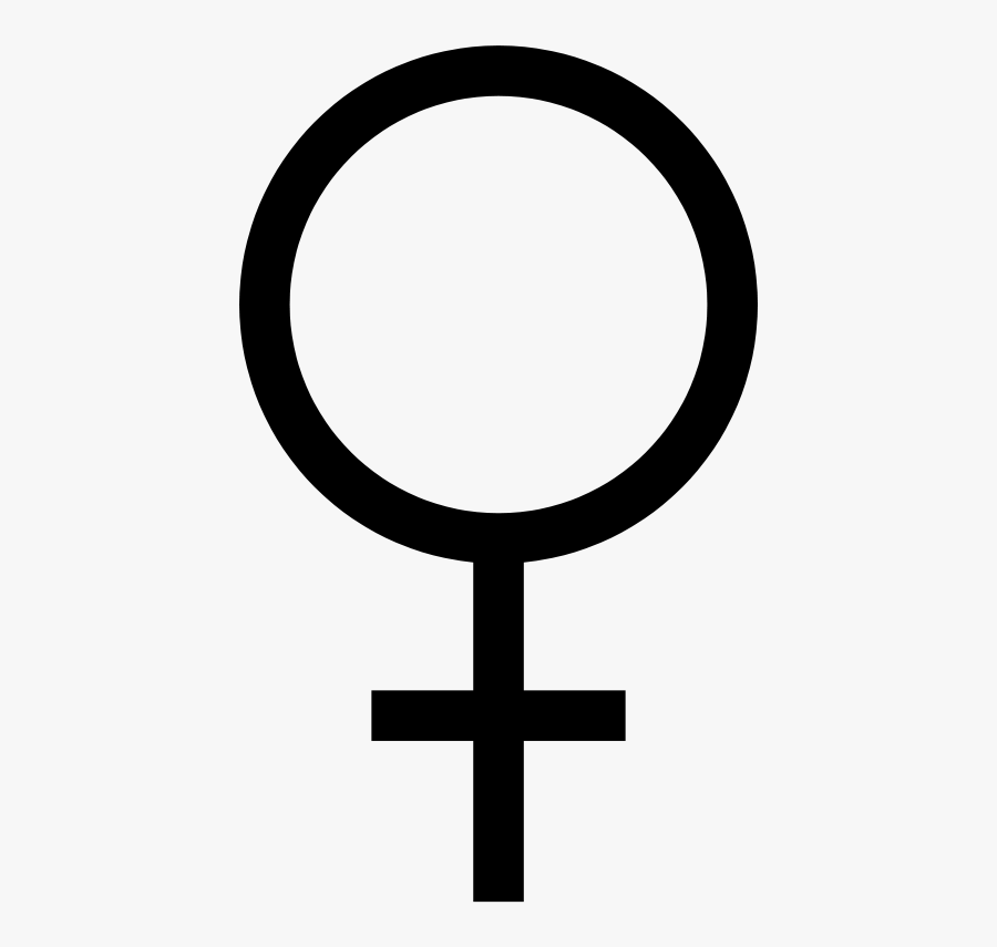 Female Symbol Dan Gerha 01r - Female Symbol Clip Art, Transparent Clipart