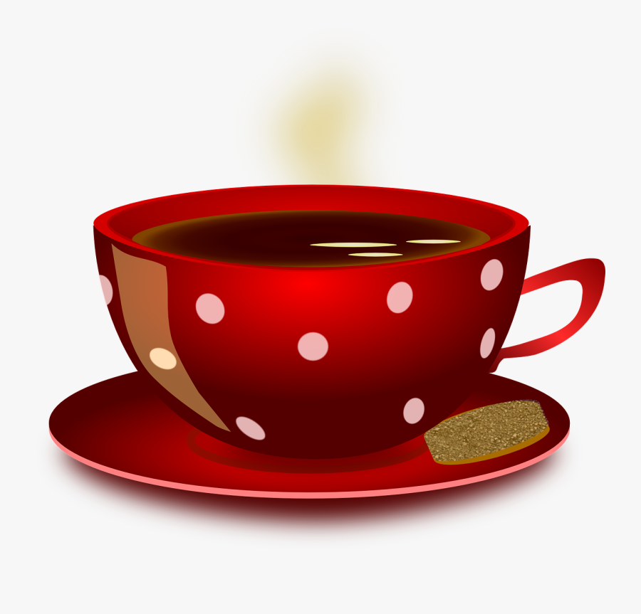 Cup Mug Coffee Free Photo - Red Coffee Cup Clipart, Transparent Clipart
