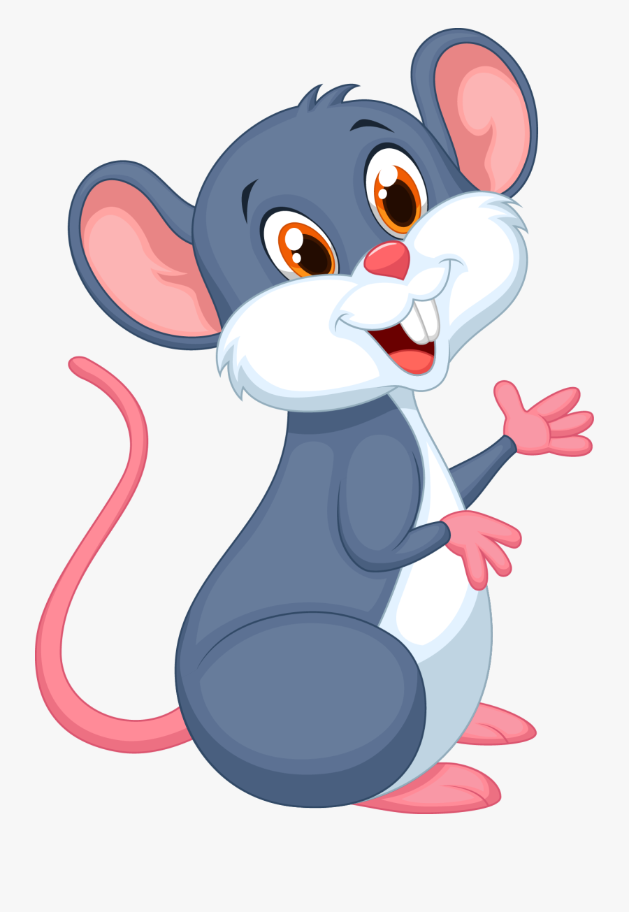 Hamster Clipart Brown Mouse - Cartoon Mouse Clipart, Transparent Clipart