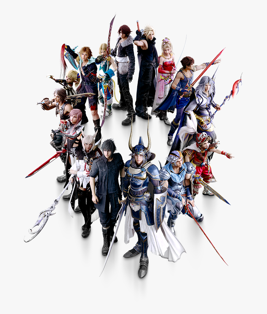 Final Fantasy Dissidia Nt All Characters, Transparent Clipart