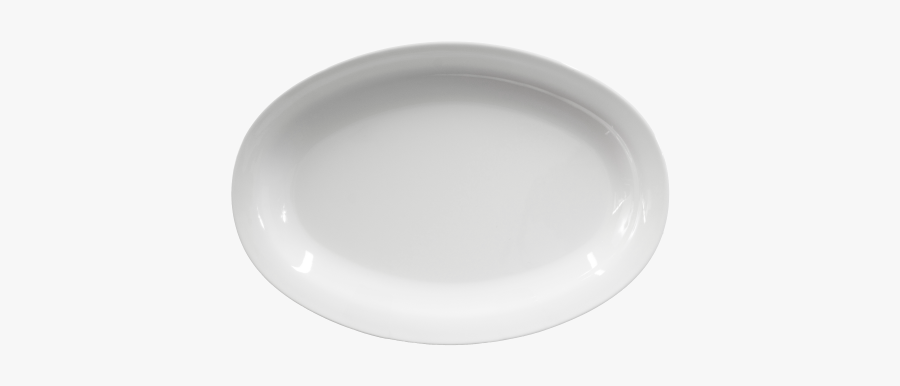 Plate Clipart Oval Plate - Plate, Transparent Clipart
