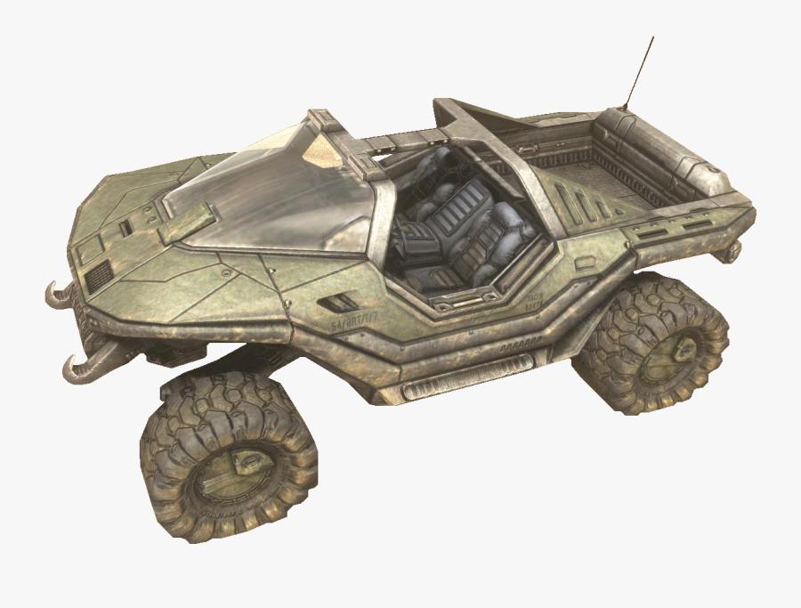 Halo Warthog, Transparent Clipart