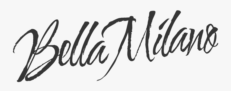 Bella Milano Logo, Transparent Clipart