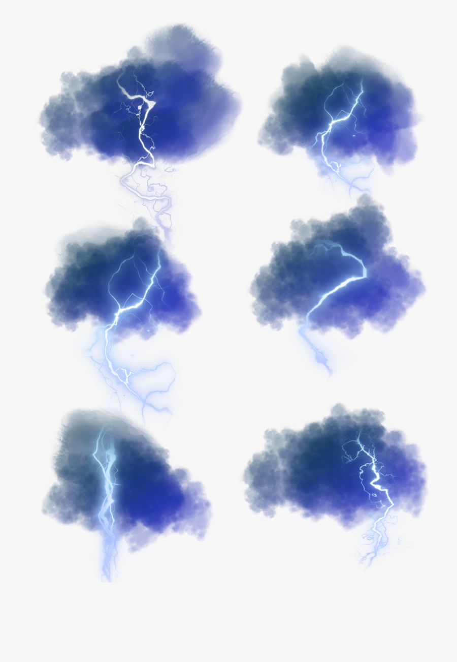 Blue Lightning Dark Glowing Png And Psd Free Transparent Clipart Clipartkey