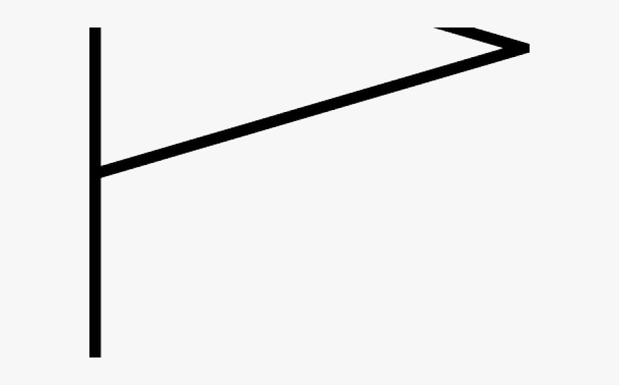 Triangle Flag Cliparts - Line Art, Transparent Clipart
