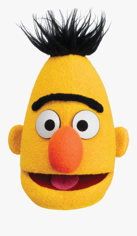 Bert Head - Bert From Sesame Street , Free Transparent