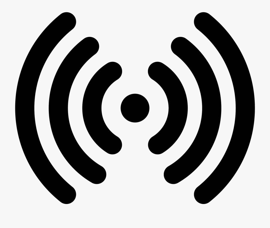 Transparent Radio Wave Clipart - Radio Waves Png, Transparent Clipart
