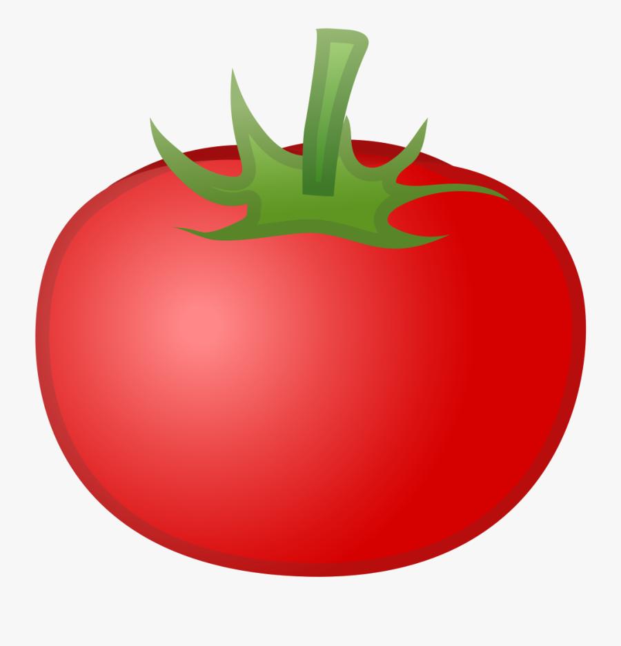 Tomato Cartoon Png - Emoji Tomate, Transparent Clipart