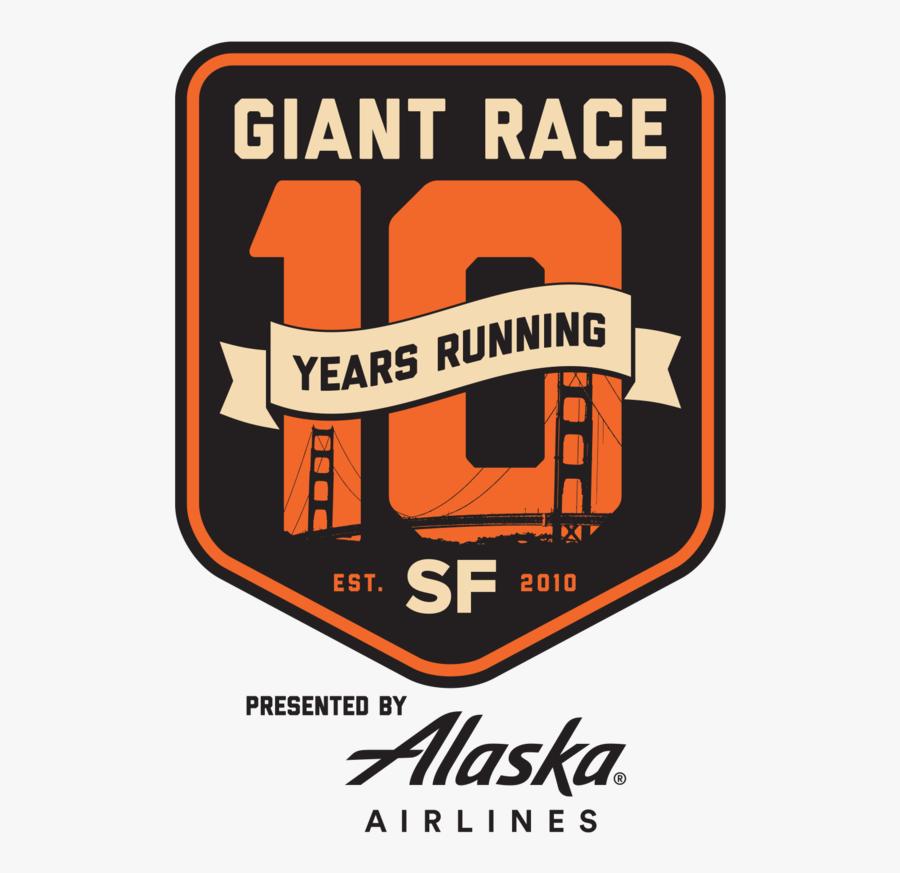 San Francisco Giant Race Presented By Alaska Airlines - Golden Gate Bridge, Transparent Clipart