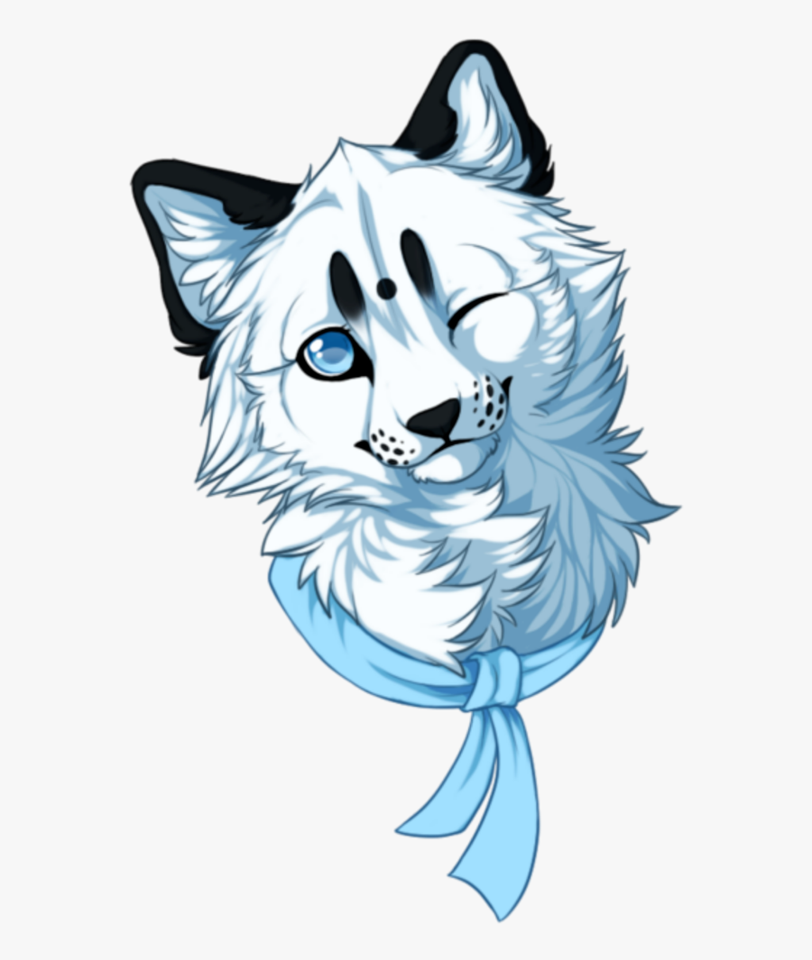 Transparent Baby Wolf Clipart - Kawaii Wolf, Transparent Clipart