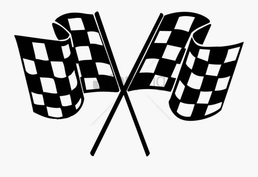 Free Png Finish Line Clip Art Png Png Image With Transparent - Racing Flag Vector Png, Transparent Clipart