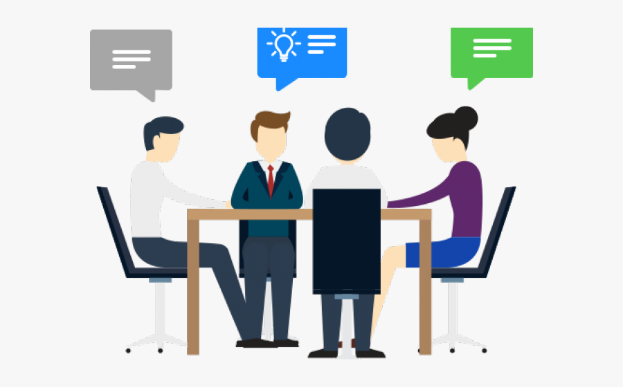 Team Meeting Cliparts - Selenium Python, Transparent Clipart