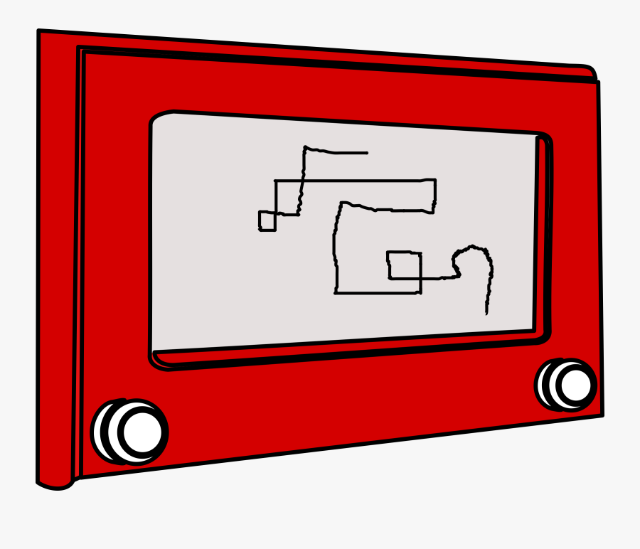 Etch A Sketch Clipart, Transparent Clipart