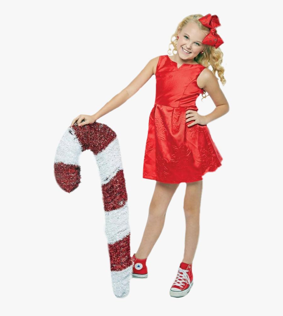#missing #christmas 🎅🎄🍭 #jojosiwa #jojo #siwa #girl - Jojo Siwa Red Dress, Transparent Clipart