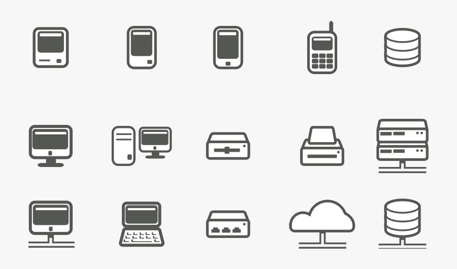 Computer &amp - Free Computer Server Icon, Transparent Clipart