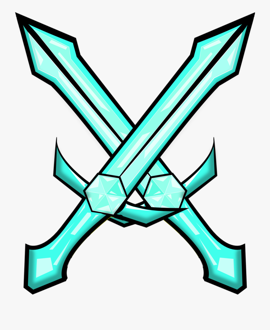 Enchanted Diamond Sword Png Double Swords Minecraft Free Transparent Clipart Clipartkey