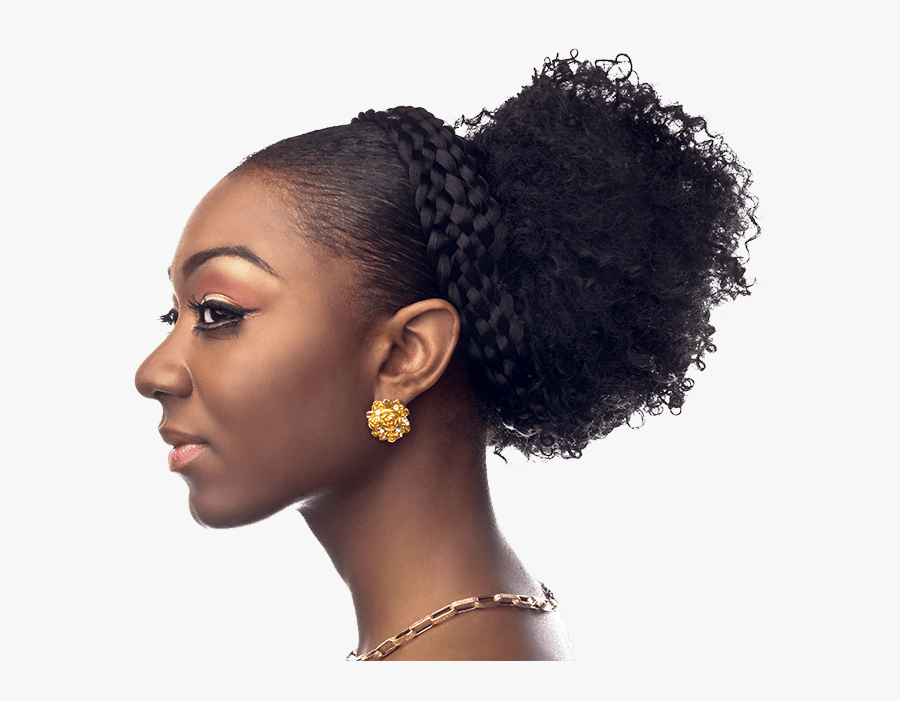 Transparent African American Woman Png - African American Woman Profile, Transparent Clipart