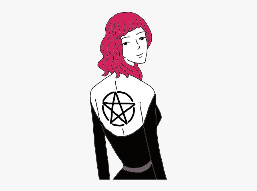 Pentacle - Illustration, Transparent Clipart