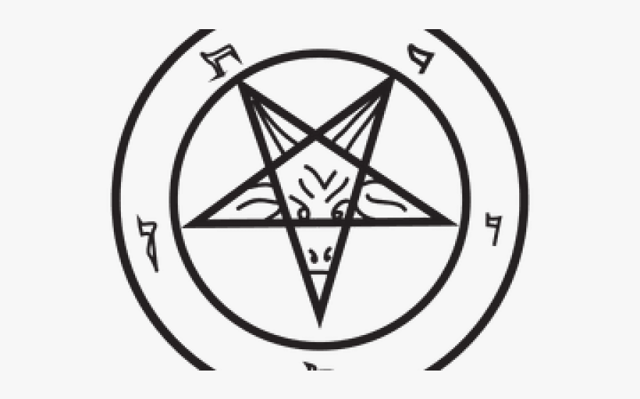 Pentacle Png Transparent Images - Satanic Warmaster Revelation, Transparent Clipart