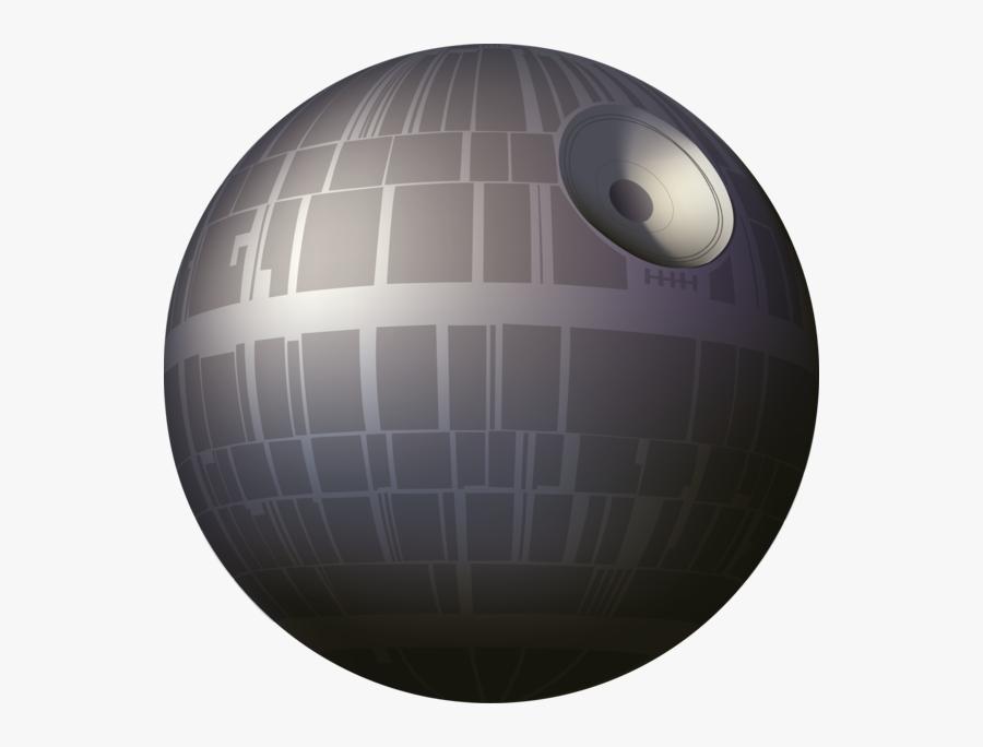 Tiny Death Star Yoda Anakin Skywalker R2-d2 - Death Star Vector Transparent, Transparent Clipart