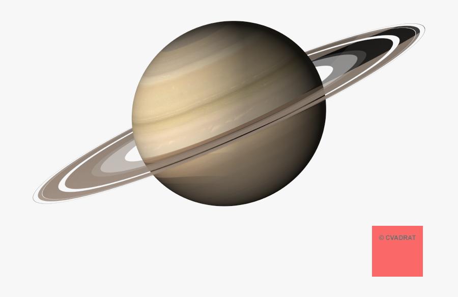 Planets Clipart Transparent Background - Saturn Planet With White Background, Transparent Clipart
