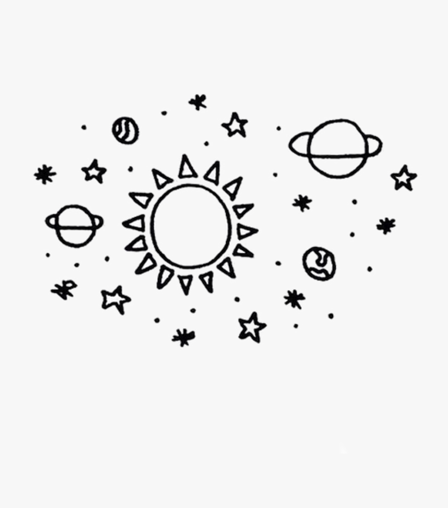Galaxy Planets Stars Star - Planet Overlay, Transparent Clipart