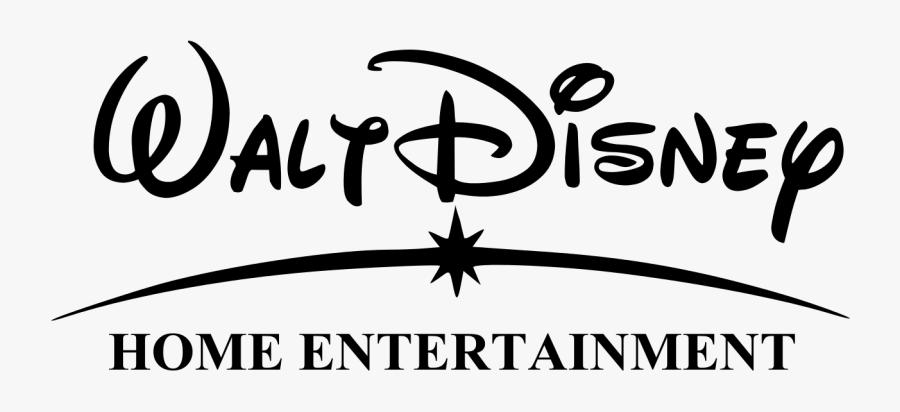 Disney Home Black And White Clipart - Walt Disney Presents Logo, Transparent Clipart