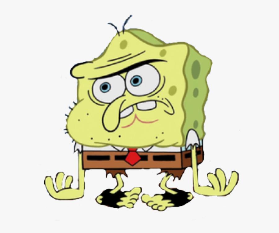 Spongebob Caveman Png - Spongy Spongy Spongebob, Transparent Clipart