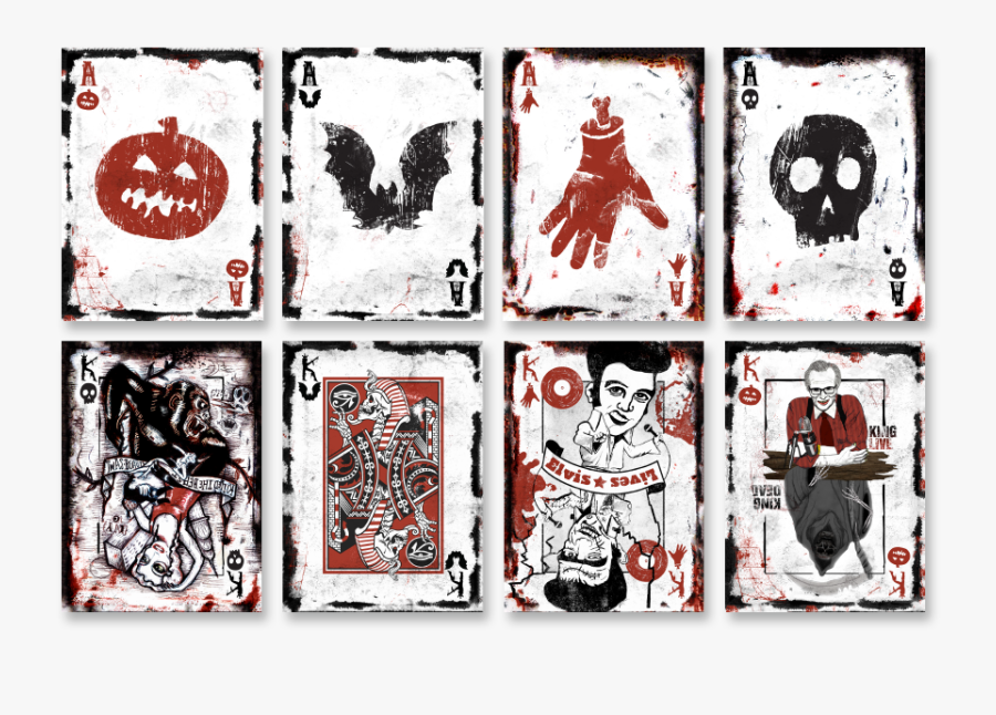 Com, Including King Of Hearts Playing Card Adult Costume, - Halloween Deck Of Cards, Transparent Clipart