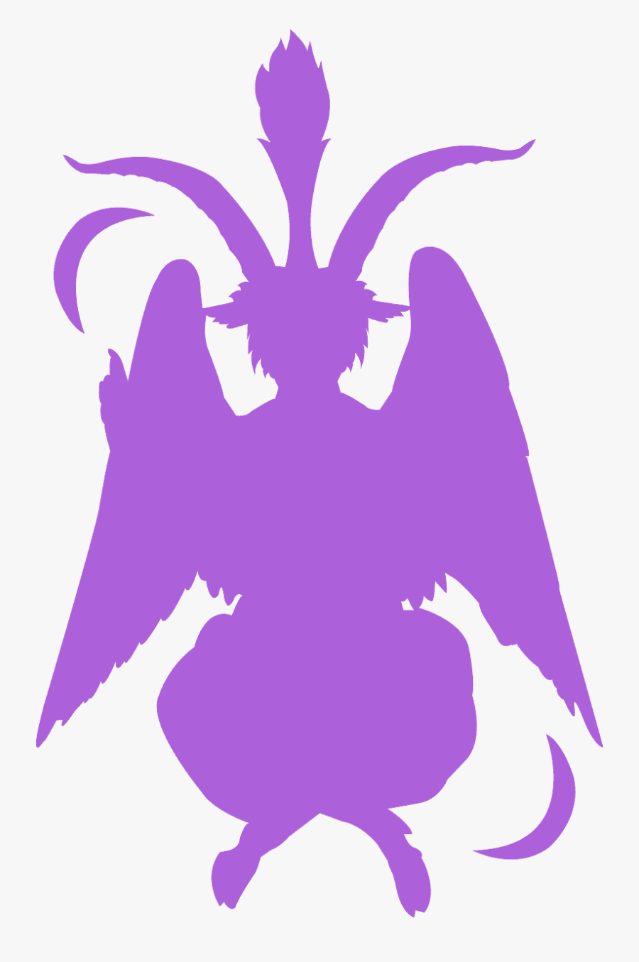 Baphomet Pink, Transparent Clipart
