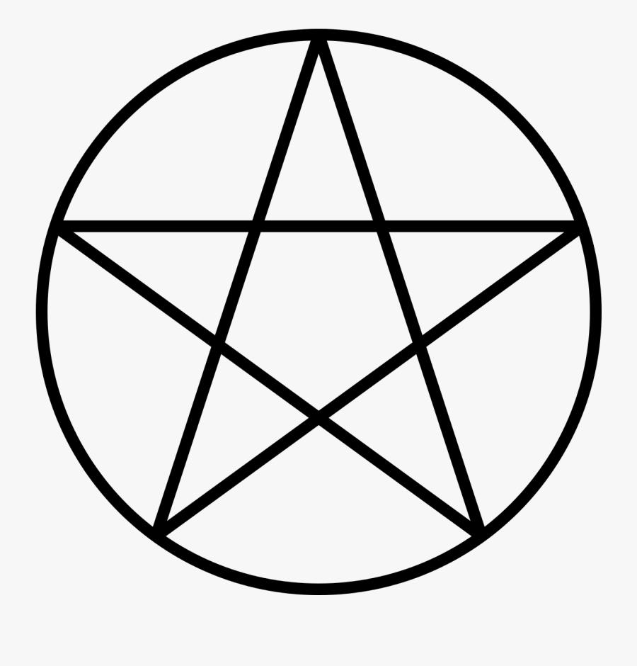 Pentagram Pentacle Wicca Satanism Sigil Of Baphomet - Pentacle Png, Transparent Clipart