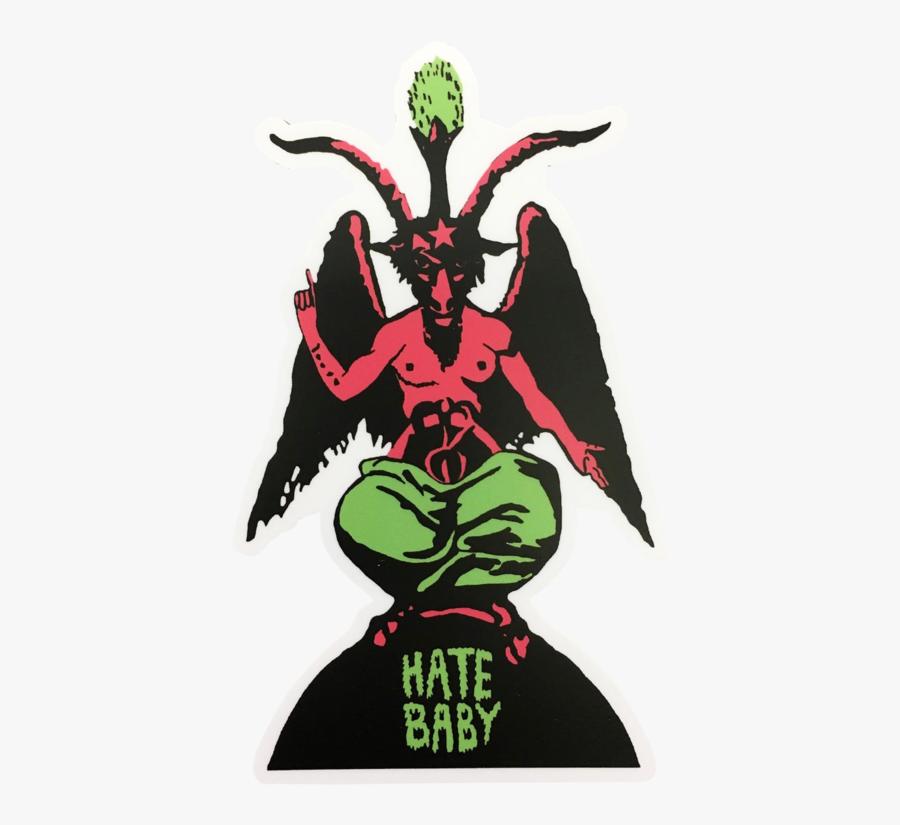 Corinne Halbert Hate Baby Sticker V=1538449628 - Sticker, Transparent Clipart