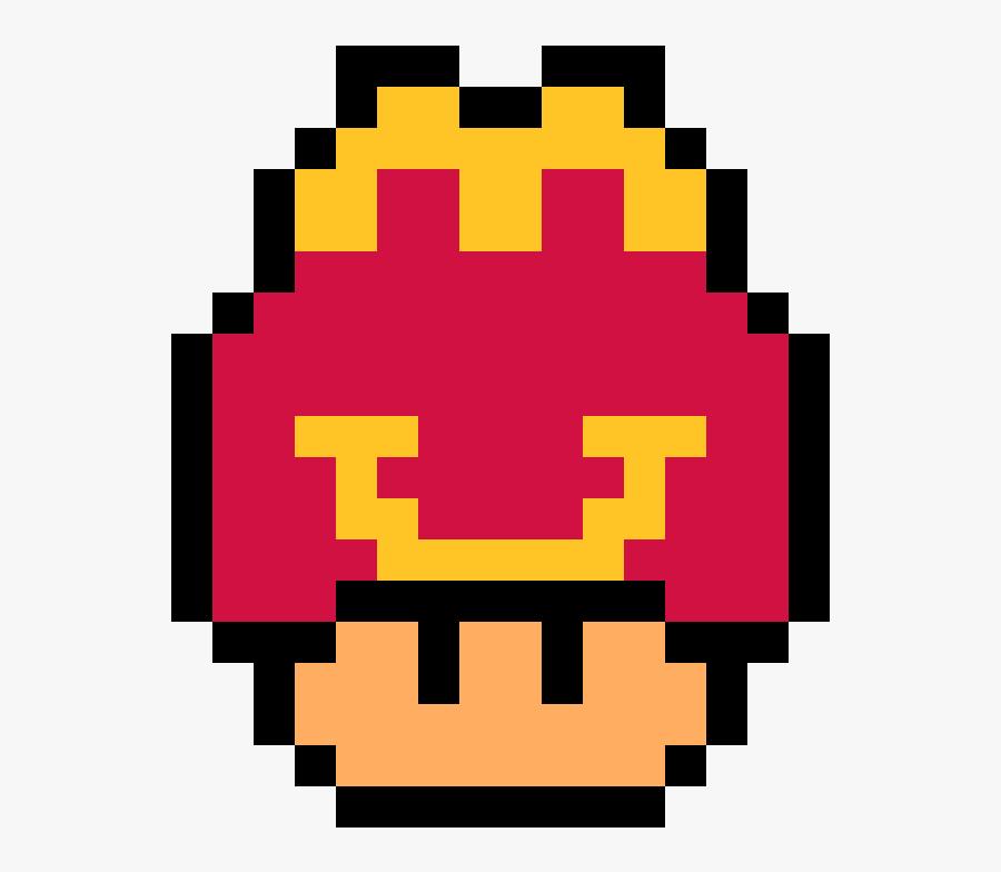 Transparent Mario Mushroom Clipart - Super Mario World 1 Up Mushroom, Transparent Clipart