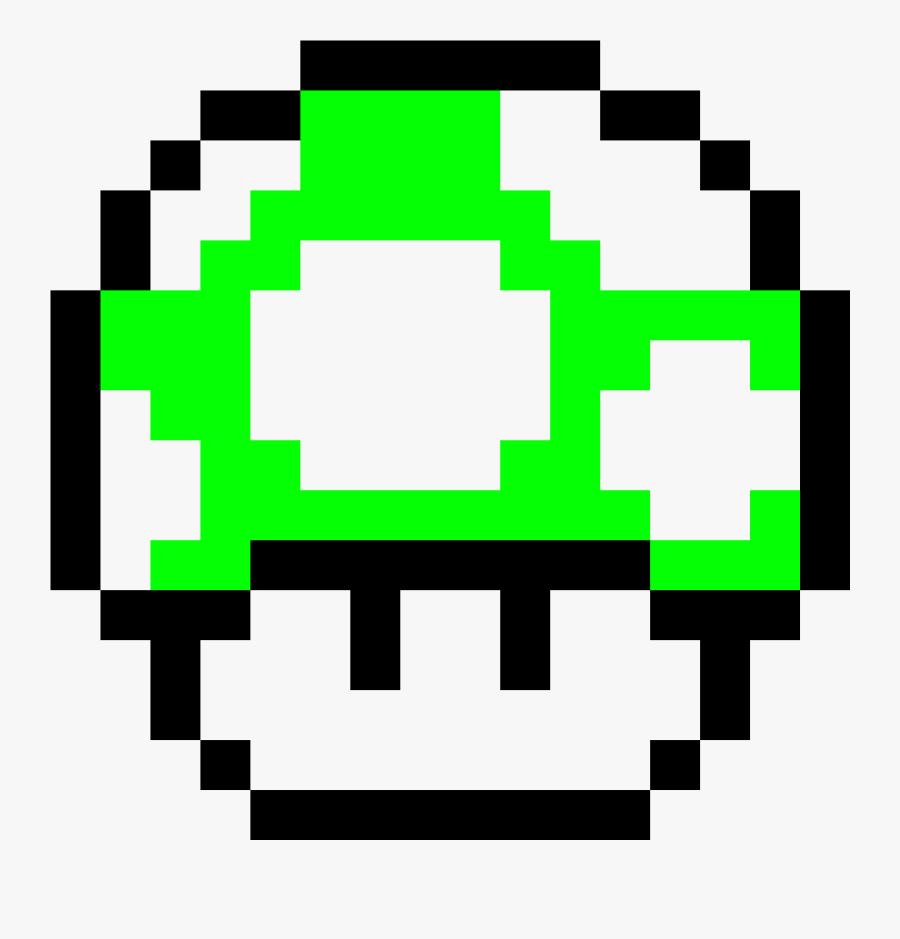Mario Mushroom Png Mario 1 Up Mushroom Pixel Art Free