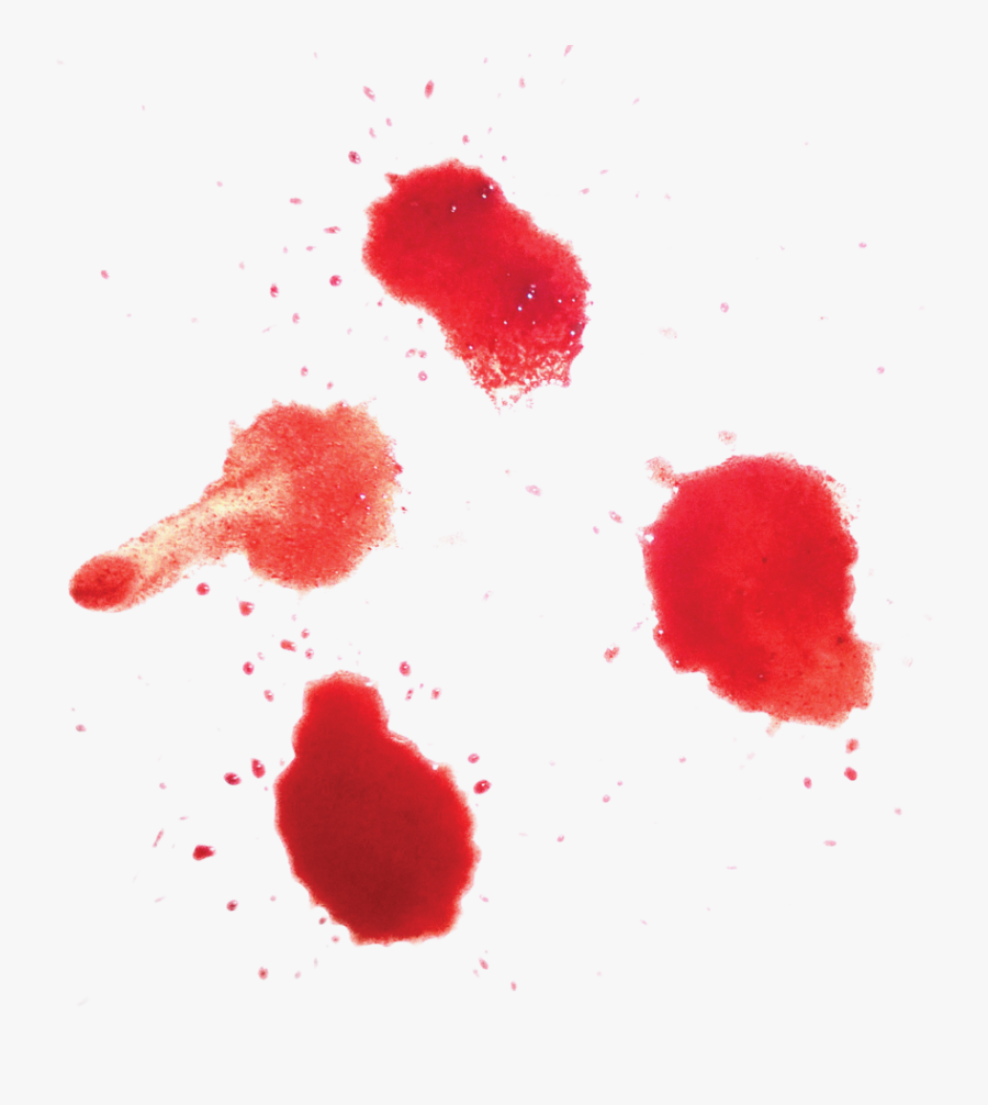 Red,stain,material Property,coquelicot - Transparent Blood, Transparent Clipart