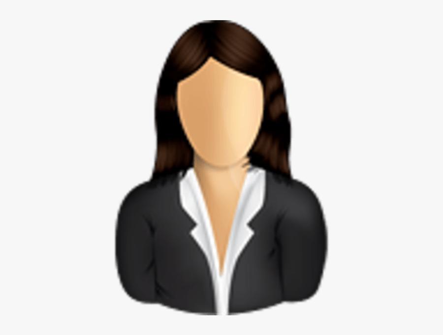 Female Business User - Female Business User Icon, Transparent Clipart