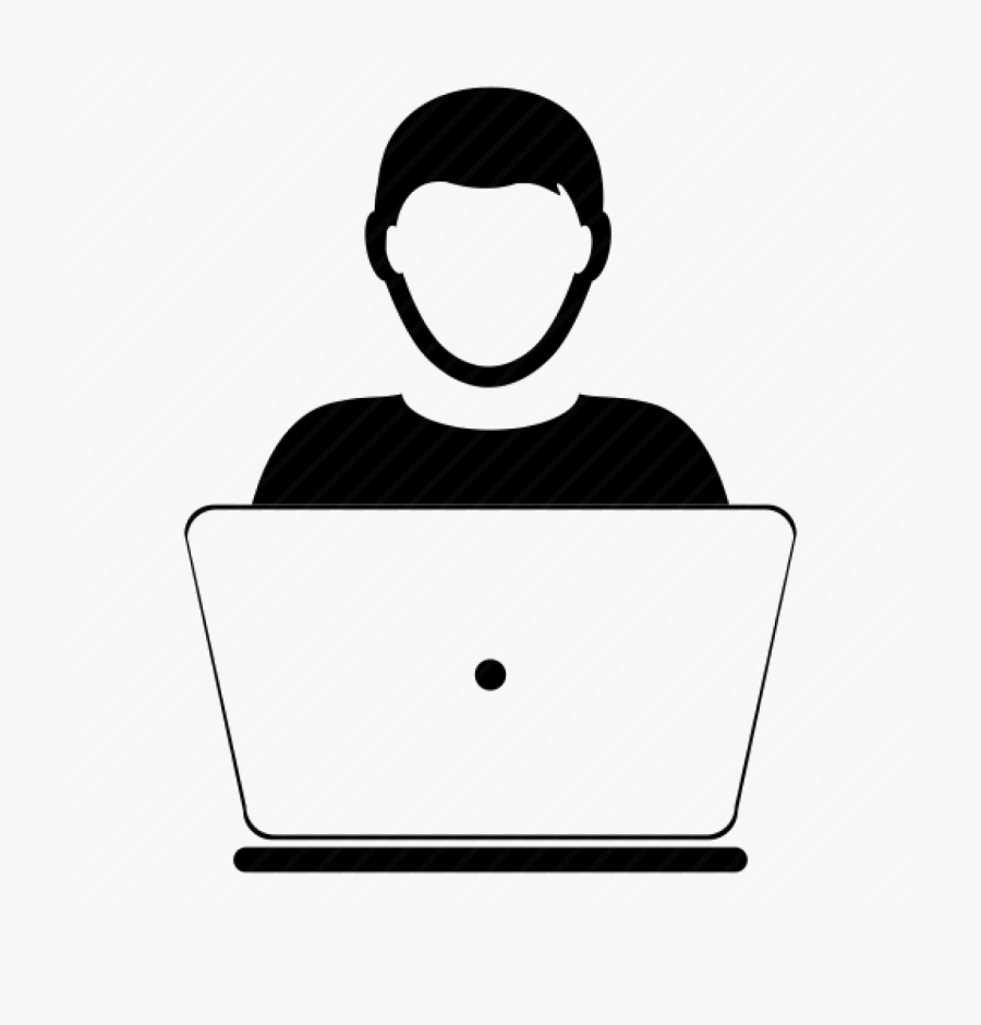 Hd Cropped Student Icon - Computer User Icon Png, Transparent Clipart