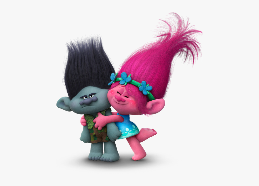 Clip Art Images Of Troll - Princess Poppy And Branch, Transparent Clipart