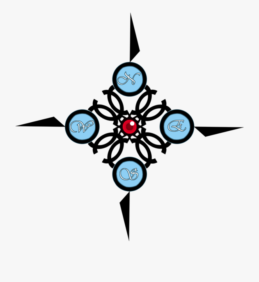 Cool Easy Compass Rose, Transparent Clipart