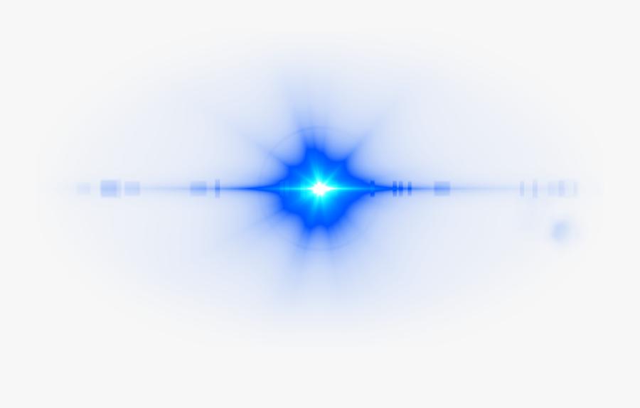 Deep Blue Lens Flare - Lens Flare Eyes Transparent, Transparent Clipart