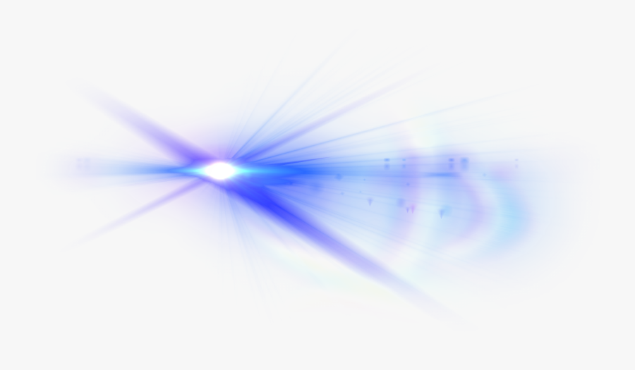 Blue Light Lens Flare Png - Light, Transparent Clipart