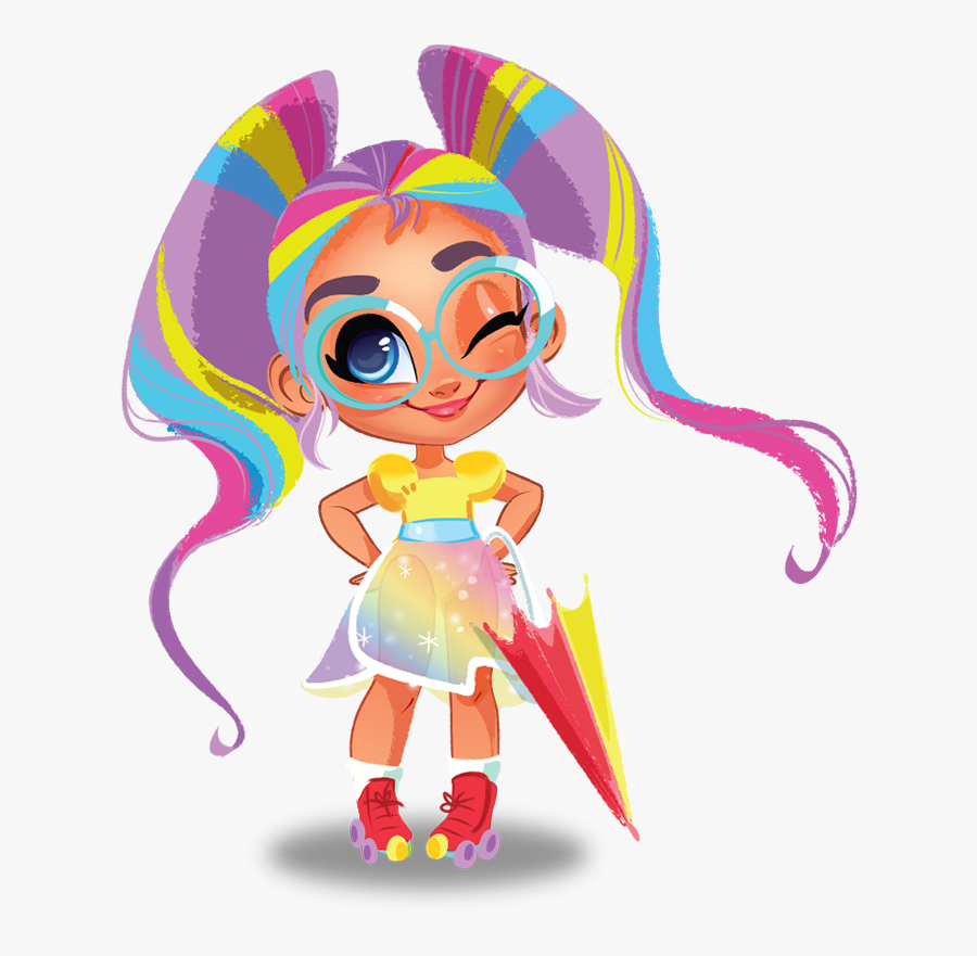 """Hello New Friends I""""m Rayne And I Am So Happy To Meet - Hairdorables Dibujos, Transparent Clipart"""