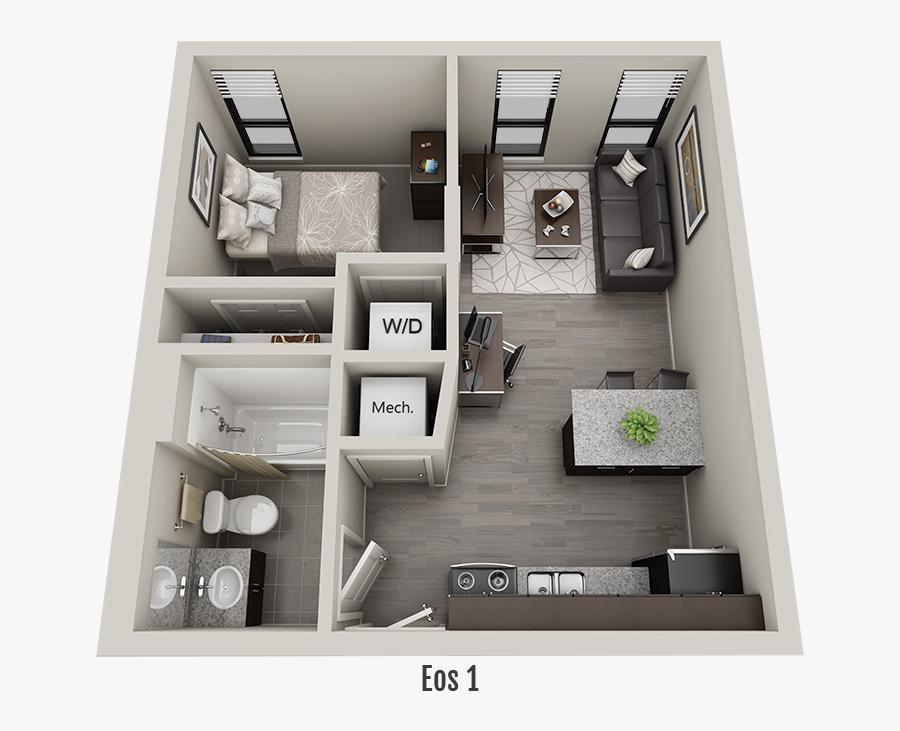 Floor Plan, Transparent Clipart